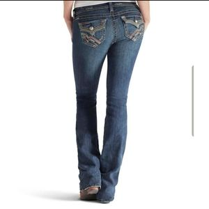 Ariat Ruby Bootcut Button Flap Jeans